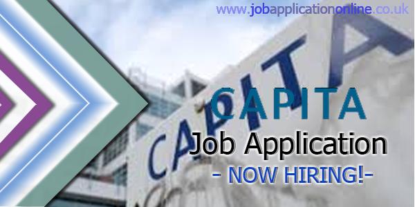 Capita Job Application
