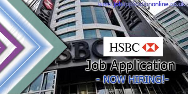 HSBC Holdings Job Application