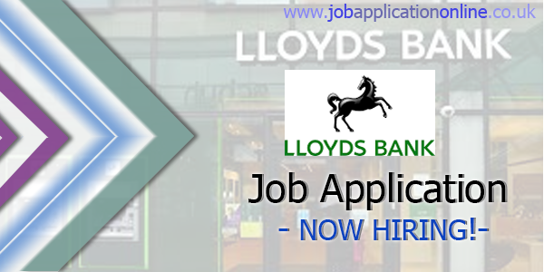 Lloyds Banking Group Job Application