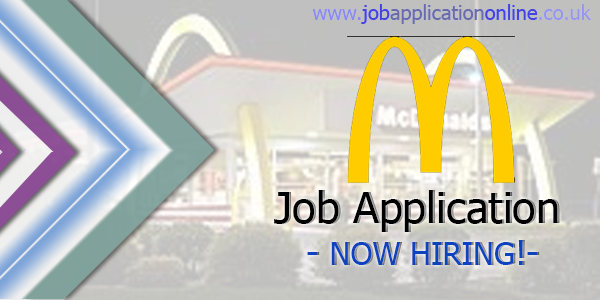 McDonald's Job Application