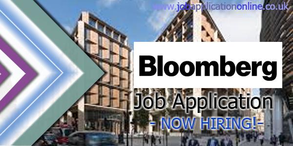 Bloomberg Job Application