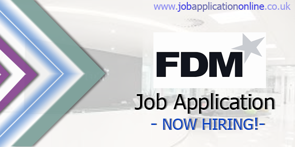 FDM Group Job Application