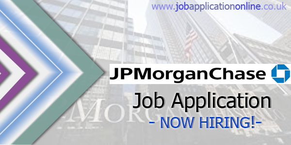 JPMorgan Chase Job Application
