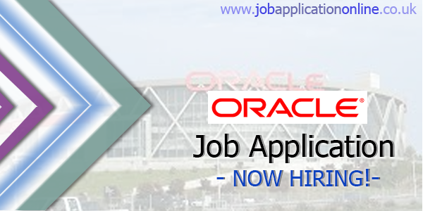 Oracle Job Application
