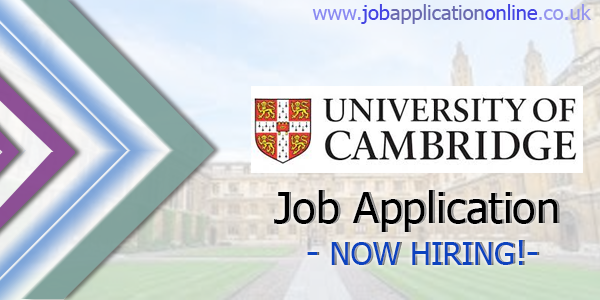 University of Cambridge Job Application
