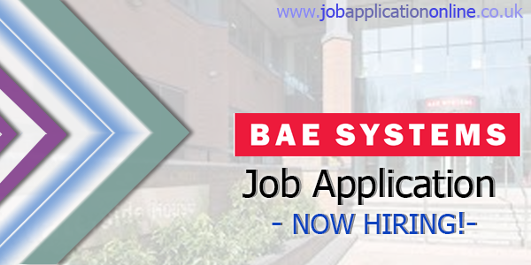 BAE Systems Applied Intelligence Job Application