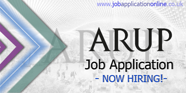 Arup Job Application