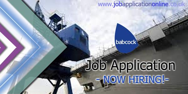 Babcock Job Application