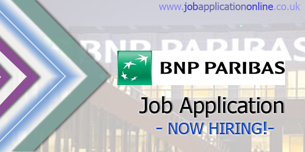 bnp paribas job application form 2019 free job applications online. Black Bedroom Furniture Sets. Home Design Ideas