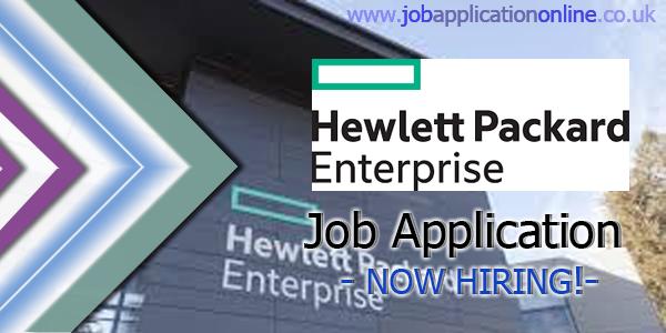 Hewlett Packard Enterprise (HPE) Job Application