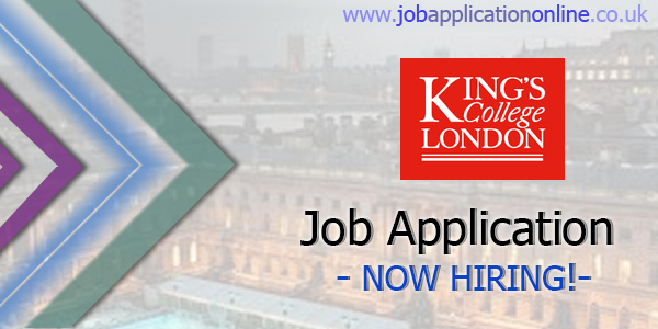 King's College London Job Application