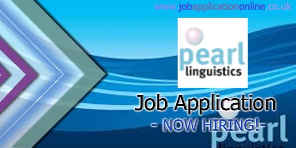 Pearl Linguistics Job Application