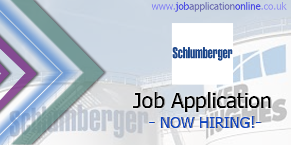 Schlumberger Job Application