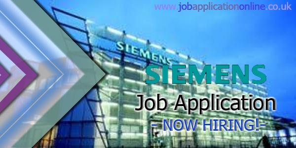 Siemens Job Application