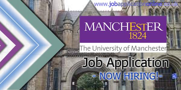 University of Manchester Job Application