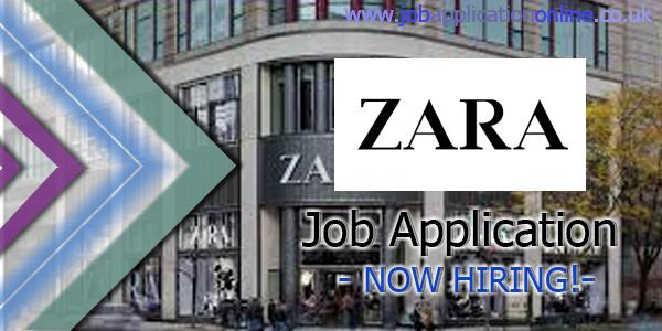 Zara Job Application