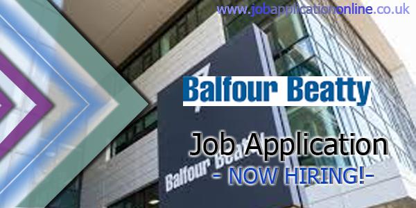 Balfour Beatty Job Application