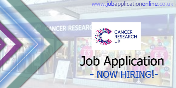 Cancer Research UK Job Application