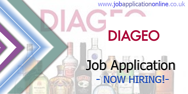 Diageo Job Application