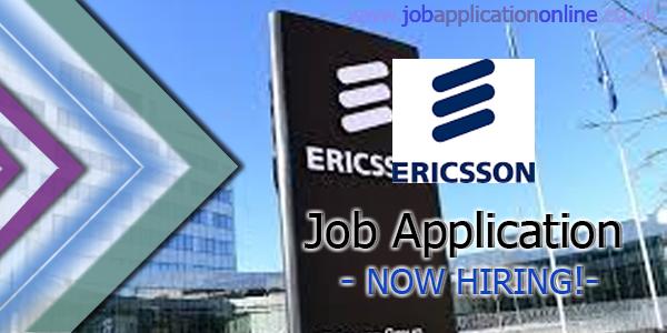 Ericsson-Worldwide Job Application