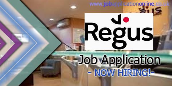 Regus Job Application