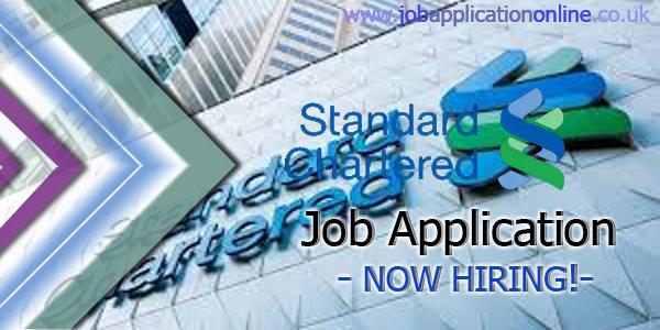 Standard Chartered Bank Job Application