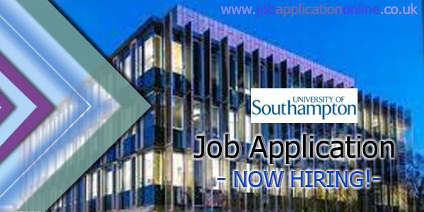 University of Southampton Job Application