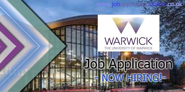 University of Warwick Job Application