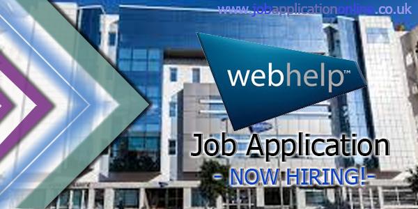 Webhelp Job Application